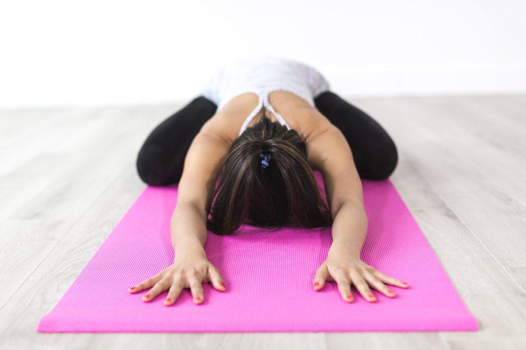 giả phóng tâm trí khi tập yoga