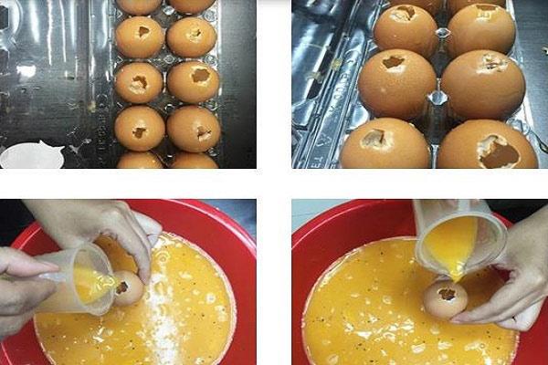 Cách làm trứng nướng