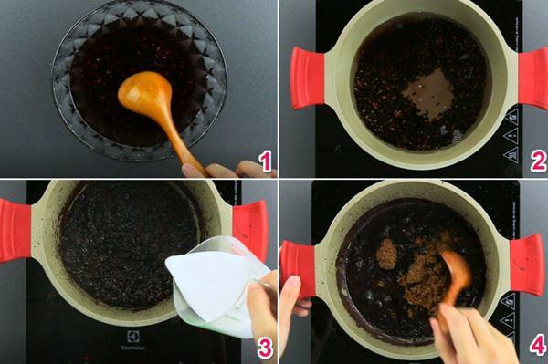Nếp cẩm ủ đường