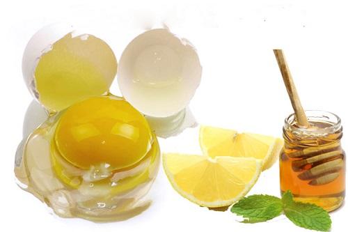 Cách trị nếp nhăn mắt bằng trứng gà, chanh và mật ong