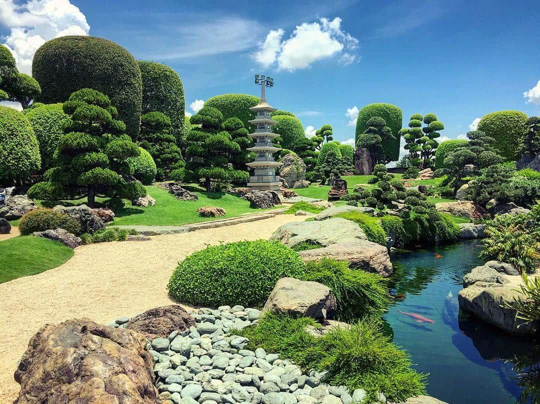 """Công viên cá Koi Rin Rin Park: Công viên cá đúng """"chuẩn"""" Nhật Bản"""