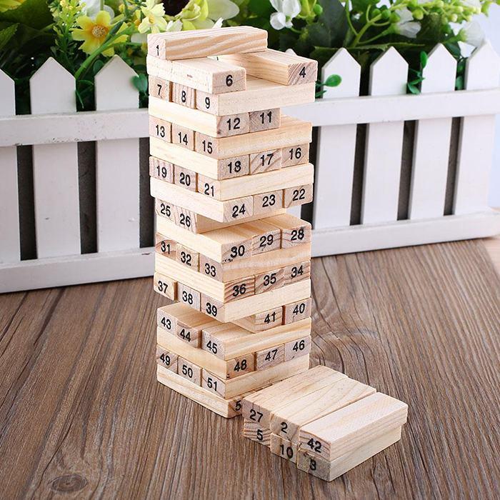 Đồ chơi gỗ giá rẻ cho bé thông minh đáng mua nhất 2019