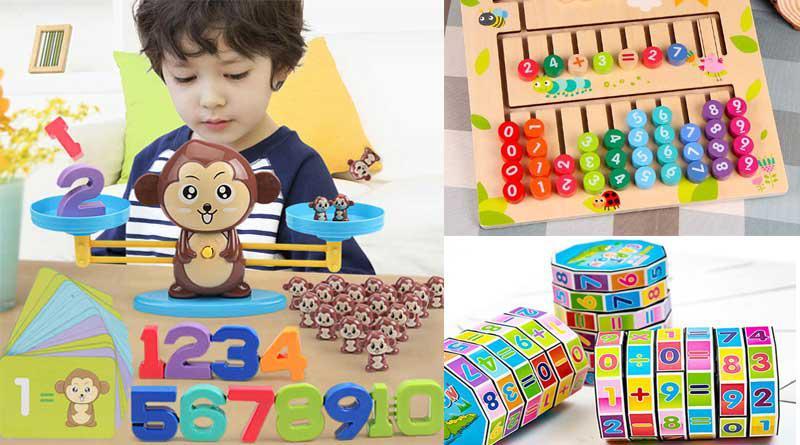 Đồ chơi toán học cho trẻ mầm non - 8 mẫu được ưa chuộng