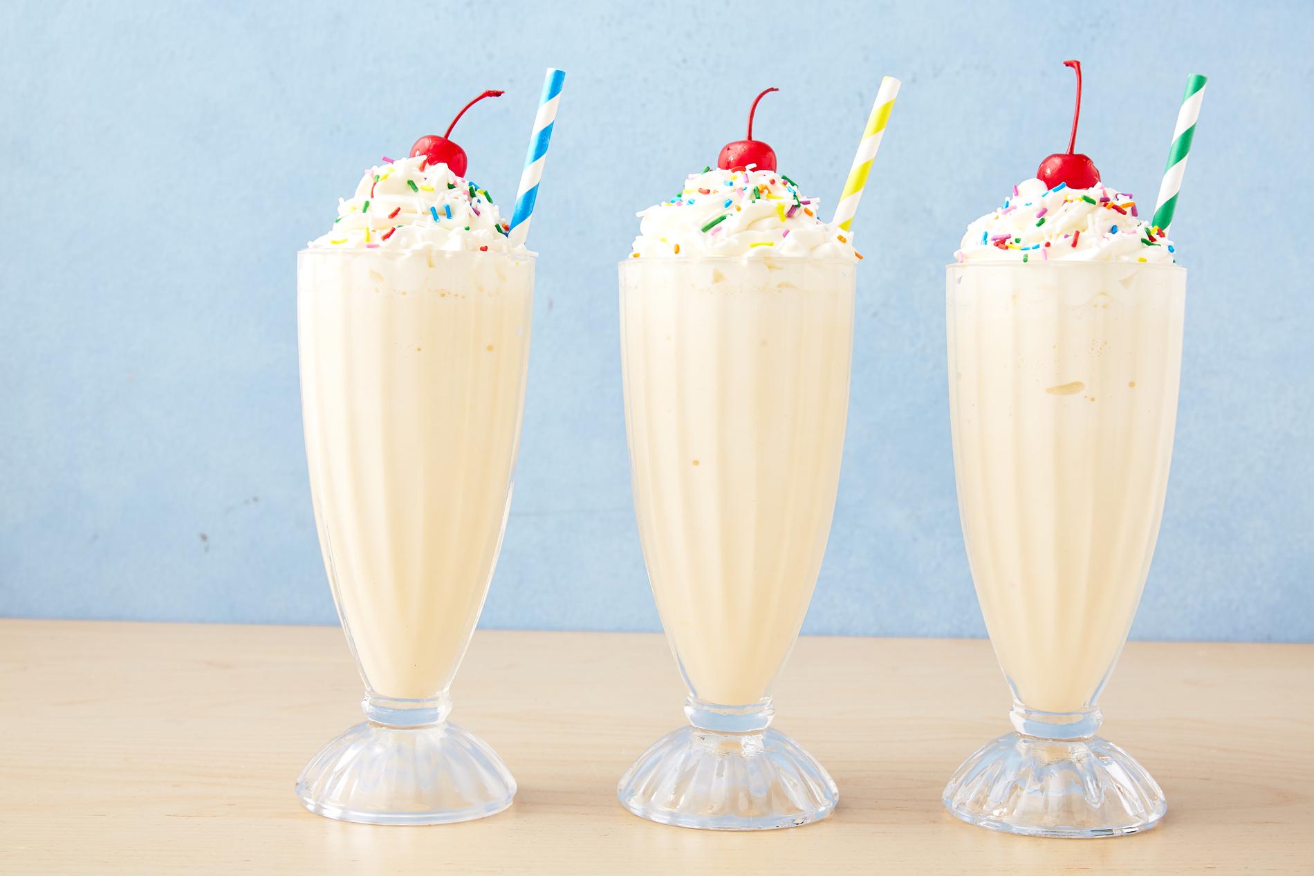 Bí quyết làm một ly milkshake thơm ngon