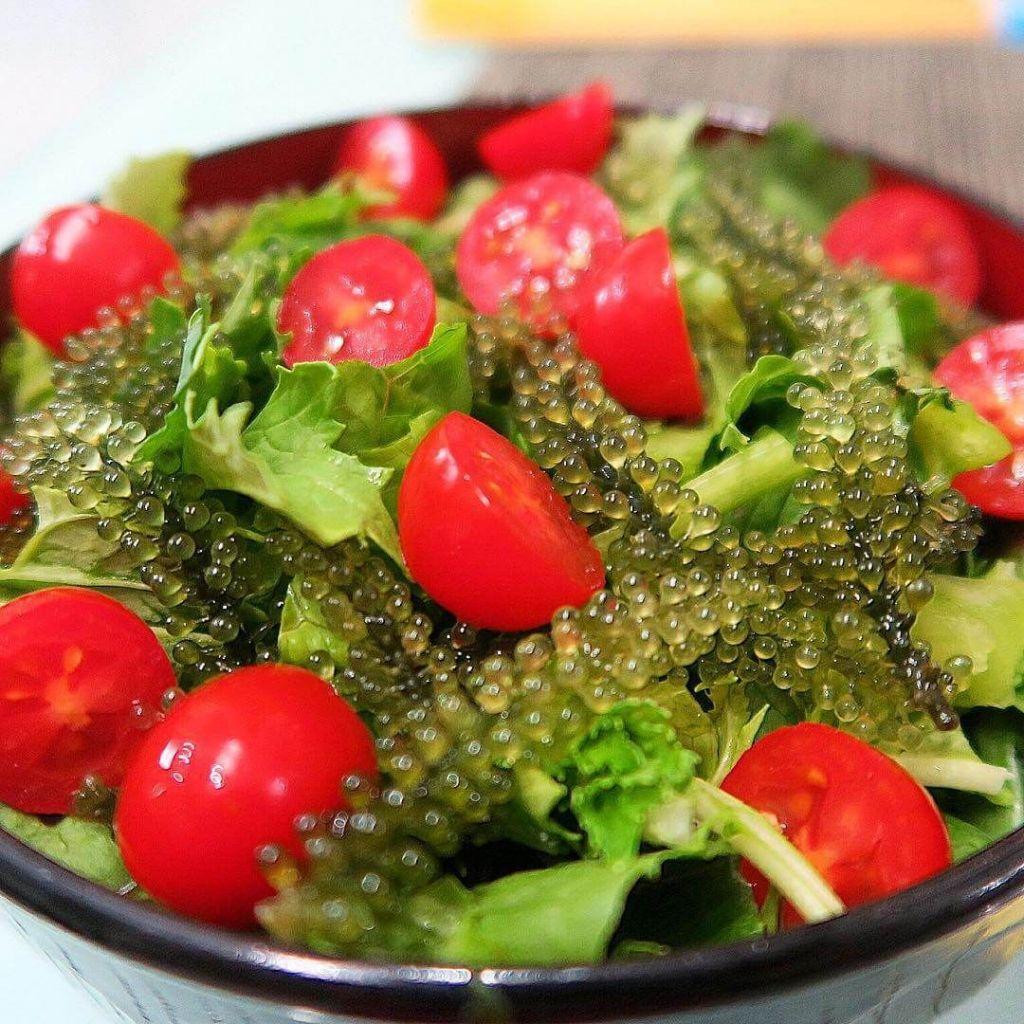 Cách ăn rong nho thơm ngon, bổ dưỡng