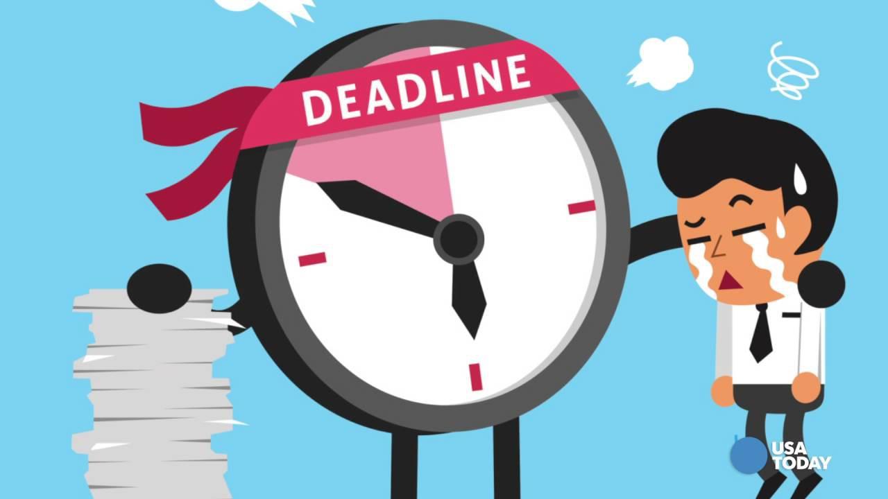 Cách hạn chế tình trạng trễ deadline bạn cần biêt
