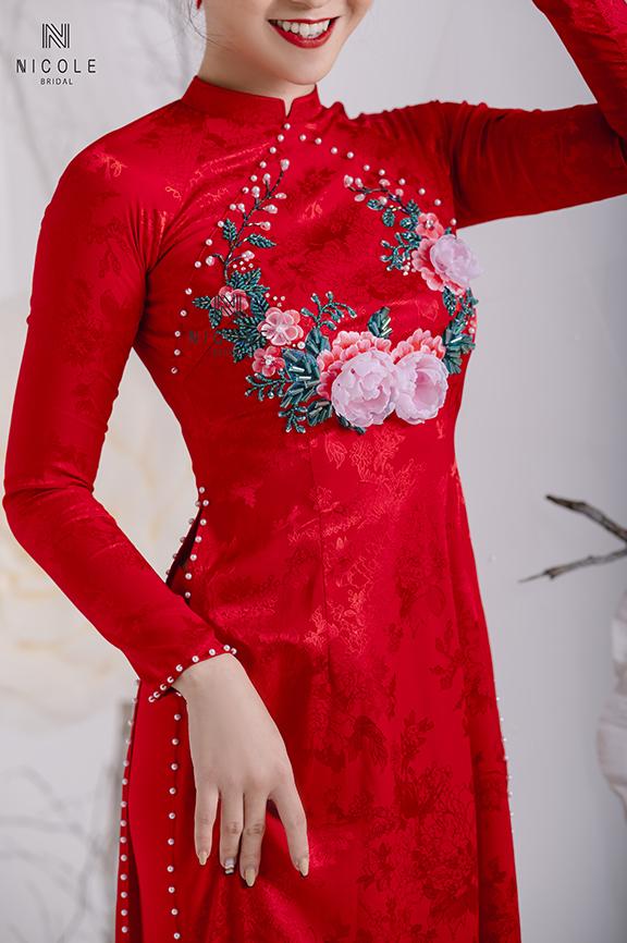 Tìm hiểu về chất liệu áo dài cưới