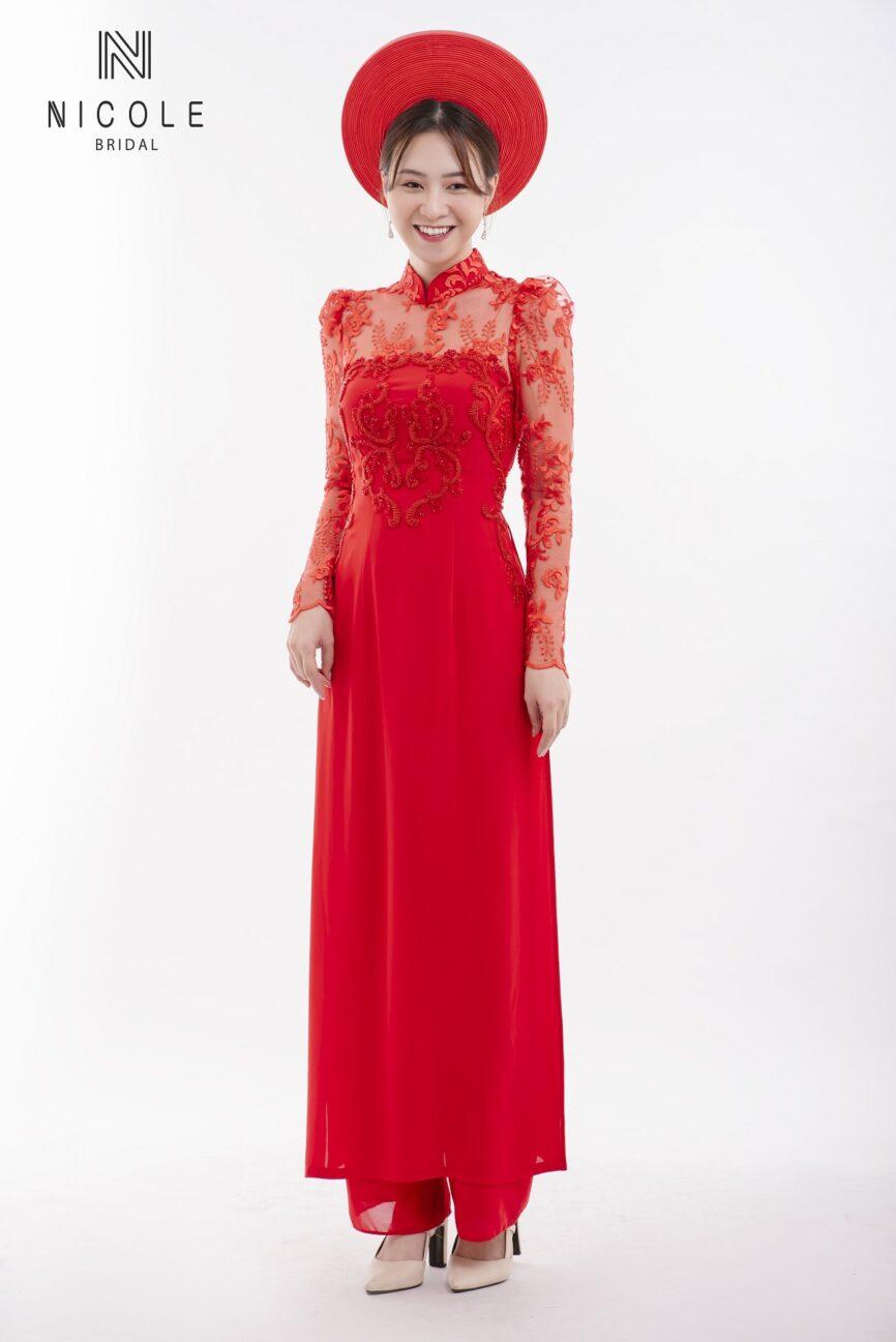 Lựa chọn địa chỉ cung cấp đa dạng các mẫu áo dài cưới