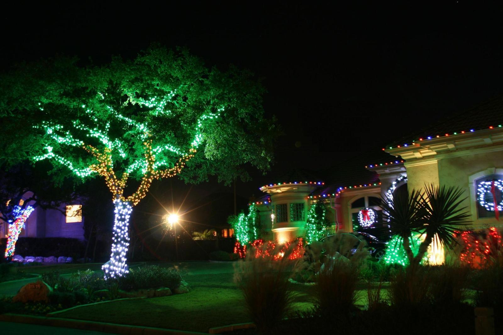 Đèn LED dây trang trí sân vườn nổi bật