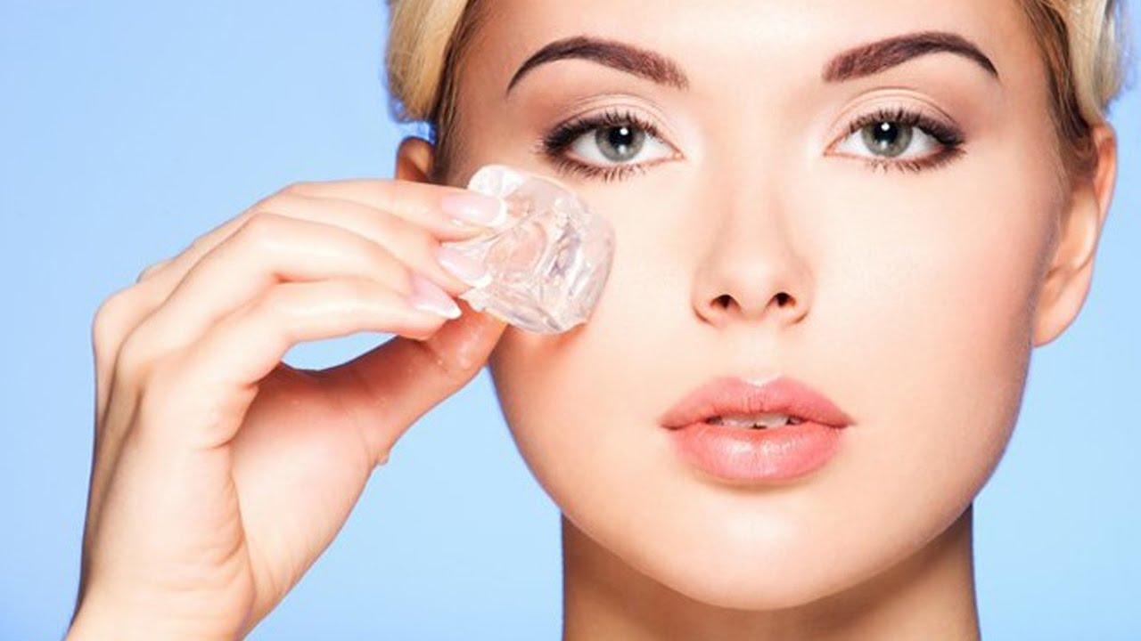 Những lợi ích làm đẹp da mặt với đá lạnh cực tuyệt vời - BlogAnChoi