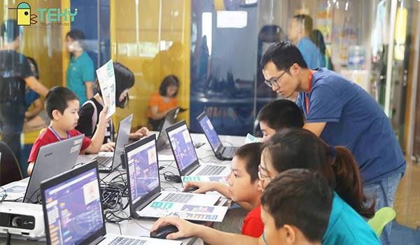Cùng bé học lập trình