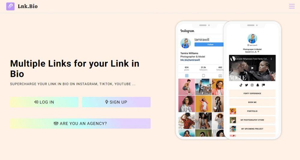 5 Website giúp tạo Bio Link chuyên nghiệp nhanh chóng