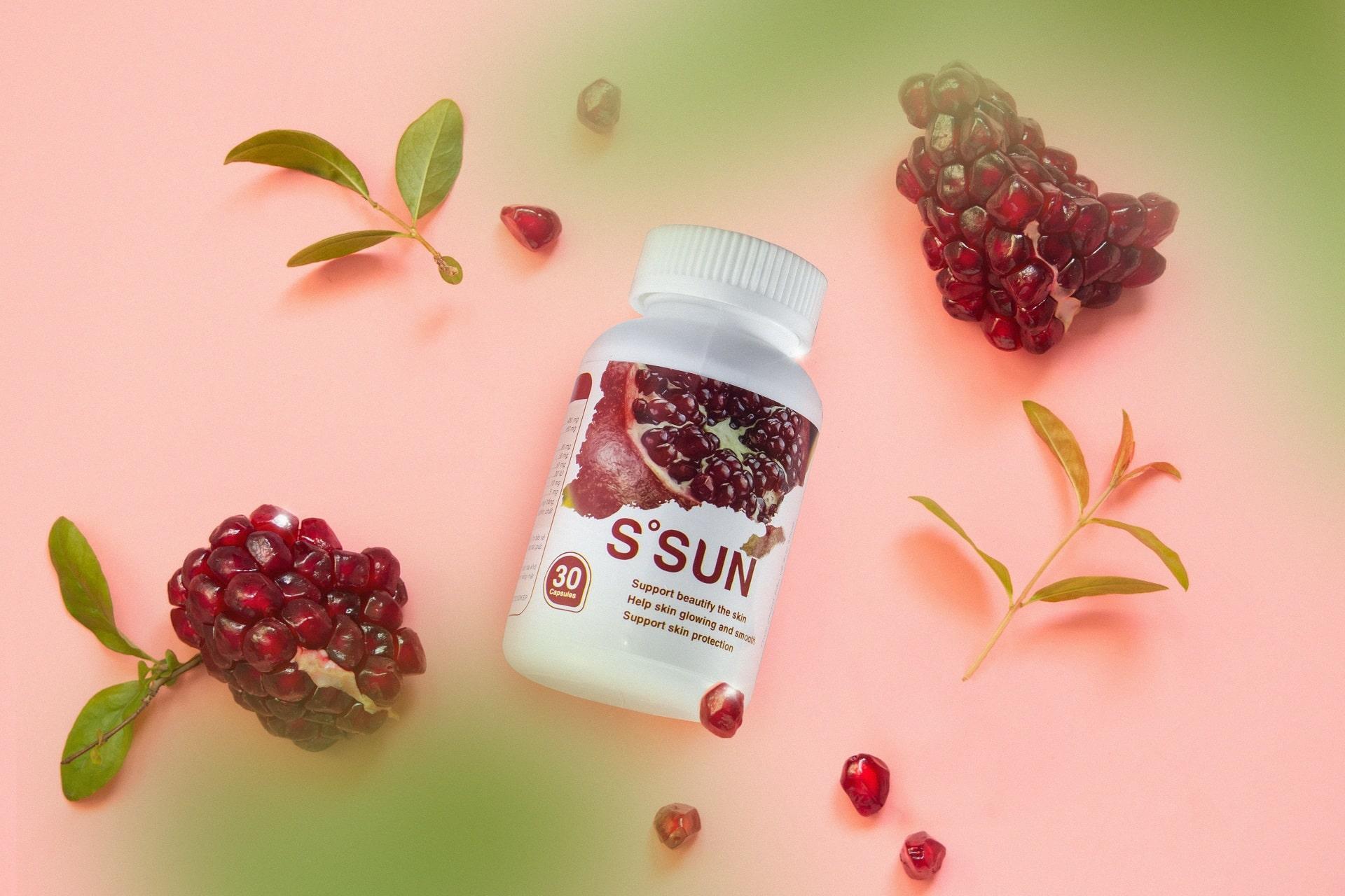 Viên Uống Chống Nắng Nội Sinh S Sun Hiệu Quả Từ Bên Trong
